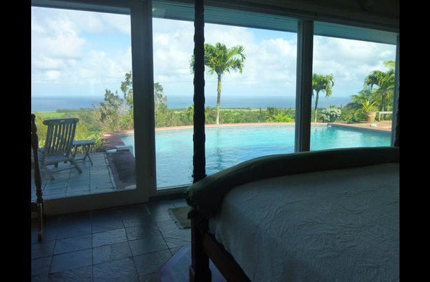 Cabana bedroom ocean view